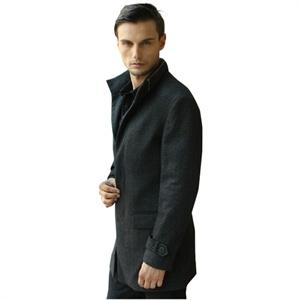 乔治爵士长款羊毛大衣