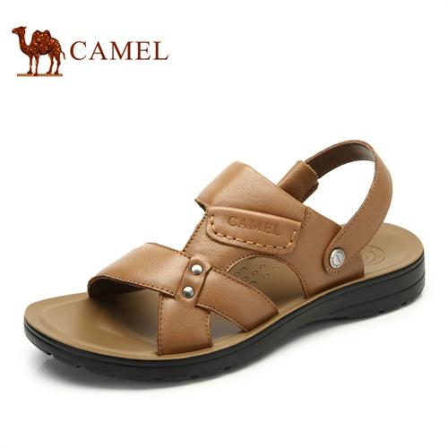 【2014新品】camel骆驼男鞋凉鞋 日常休闲男士流行凉拖鞋 新品沙滩鞋男鞋