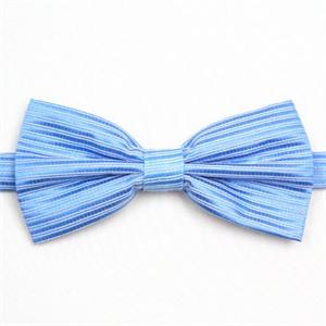 蓝色暗条纹绅士领结 ifsong ldy051