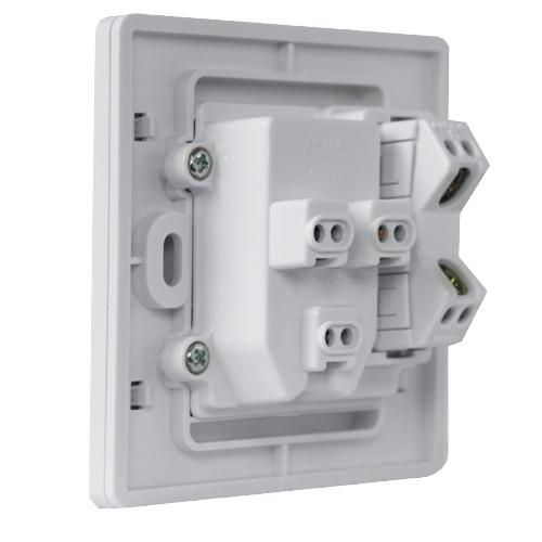 插座开关接线图 示意图 孔加