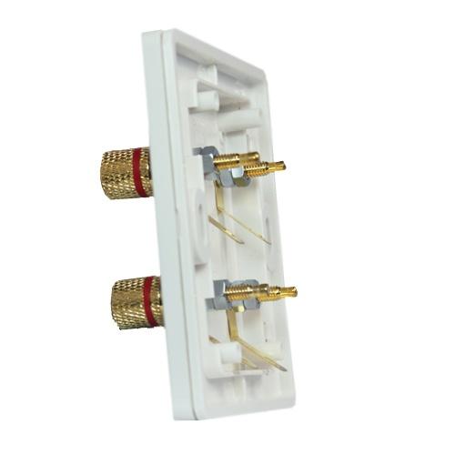 simon西蒙 55系列二位音箱插座n55402