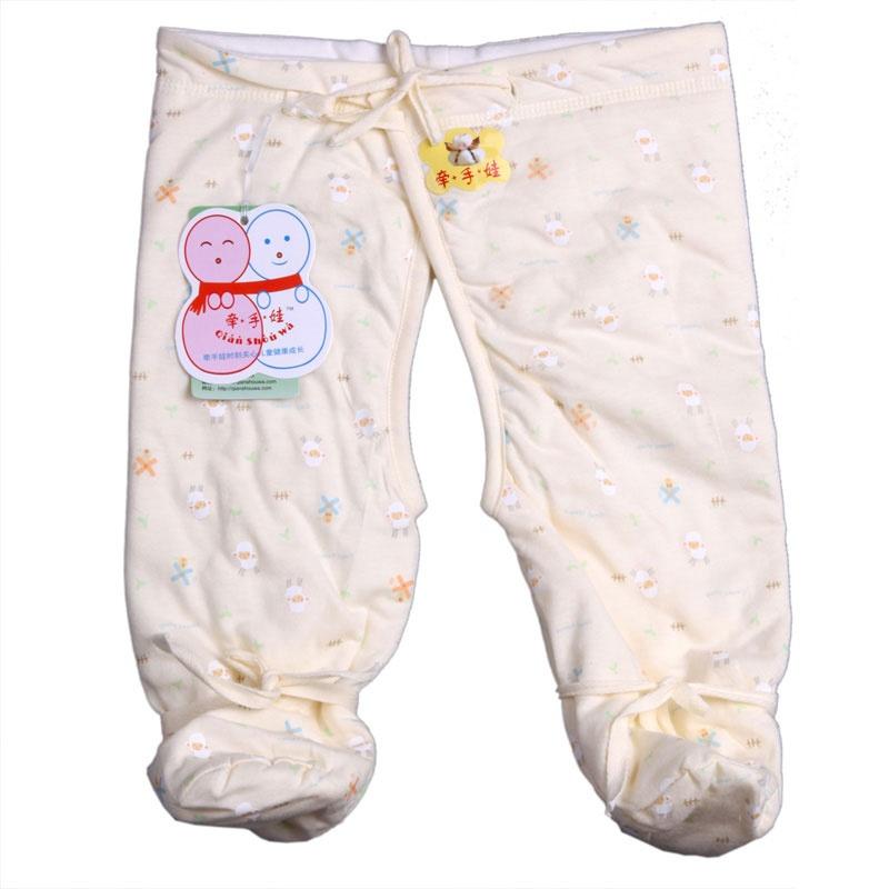 婴儿包脚裤做法图解