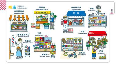 多种认知物品,标签栏管理配超萌简笔画插图 海豚传媒出品 0 3岁绘