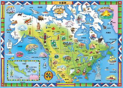 引导读者跨越全球各地的栖息地,参观世界上最神奇的动物;《七大洲》