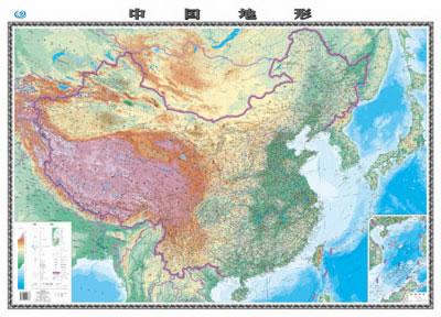 中国地形图 中国地图出版社著 9787503182853