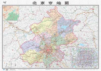 """地图""""-北京市地图"""