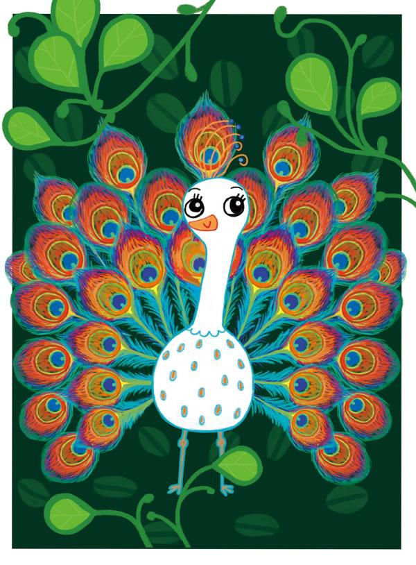 魔法毛根游戏书2·毛根创意画3:动物