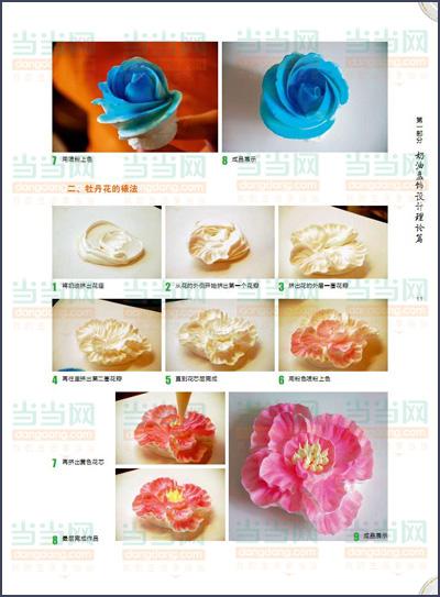 孔令海盘饰围边设计教程 奶油篇 将奶油和绘画结合,以平面 立体和3D造型来展现盘饰内容