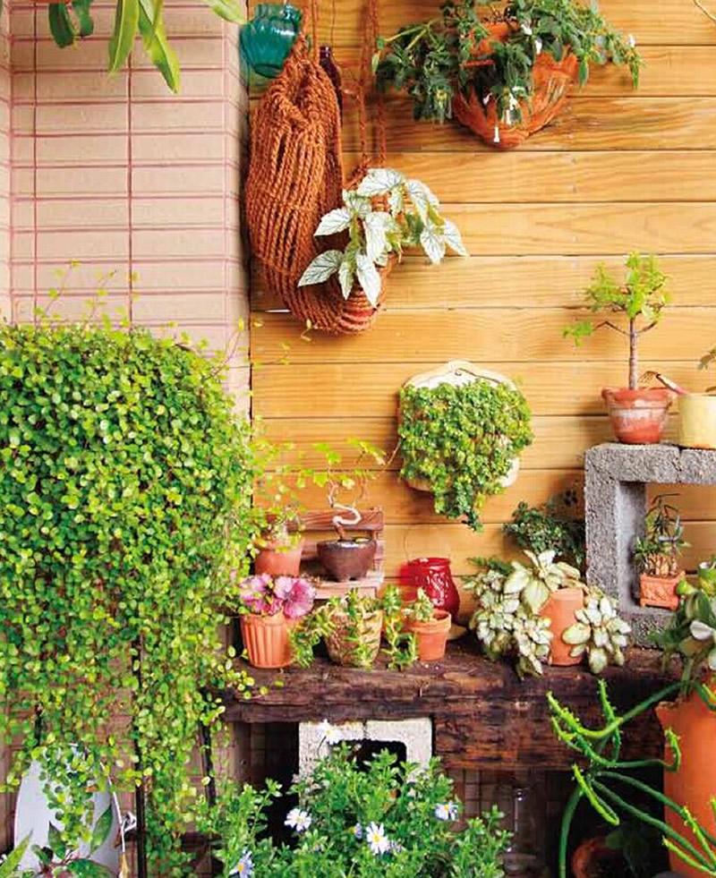 阳台种花与景观设计 珍藏版 阳台达人教你最完美打造超人气空中花园,一次满足阳台养花与造景所有需求,新装铜版纸版