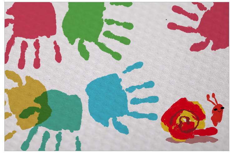 儿童手指纹画_第8页_画画大全