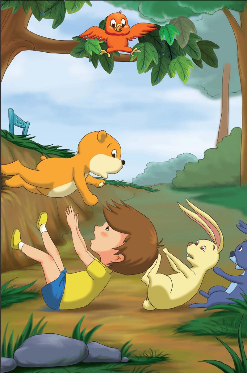 外国经典动物(全二册):小熊温尼,小鹿斑比(关于爱,成长以及生命的童话
