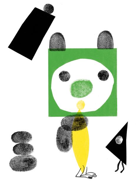 创意手指画