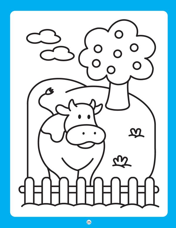 幼儿园阶梯涂色·小班下学期