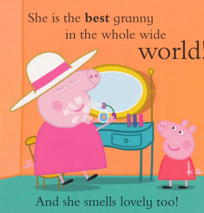 小猪佩奇刺绣斜跨包粉红猪小妹佩佩猪女孩可爱卡通儿童圆形零钱包16
