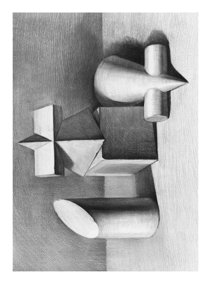 从单一的几何体到多个几何体组合,条理明确清晰,结构科学合理,使学生
