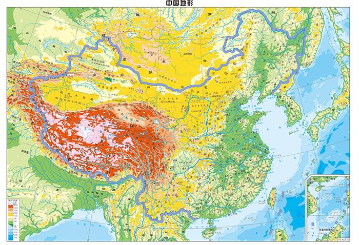 地理选修区域地理知识结构图