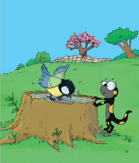 蒲公英动物绘本系列:老苹果树上的八兄妹