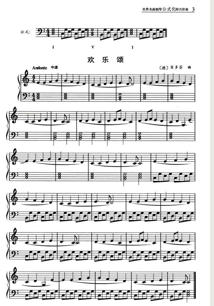 目  录 1.欢乐颂 2.《天堂与地狱》舞曲 3.香槟咏叹调 4.小乐曲 5.