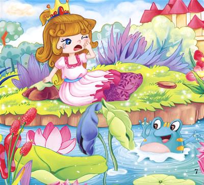 童话青蛙王子 青蛙王子童话故事 格林童话青蛙王子 热点 爱图片手机站