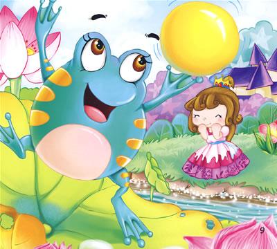 青蛙王子童话故事 格林童话青蛙王子 青蛙王子之童话奇缘