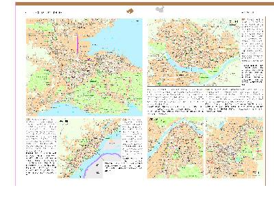 世界分国地图集 中国分省地图集---(中英文对照,全彩页铜版纸印刷