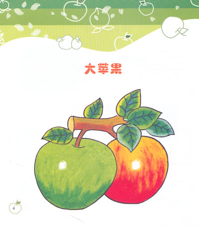 水果笔画大全大图