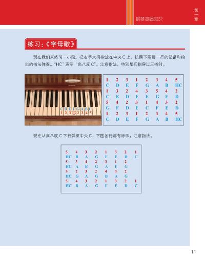 成人速成简易钢琴曲谱