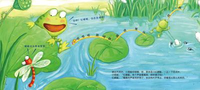 小小手指的探险--小青蛙的池塘探险