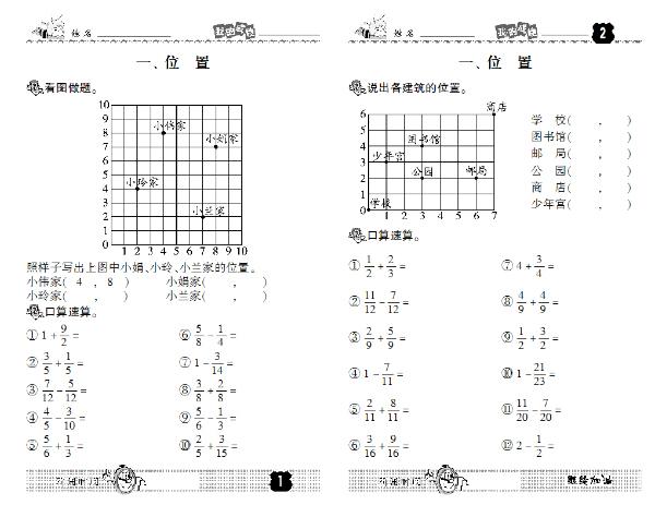 口算乘法知识结构图