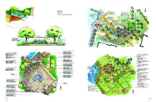 手绘景观:方案与细部设计(英文版)