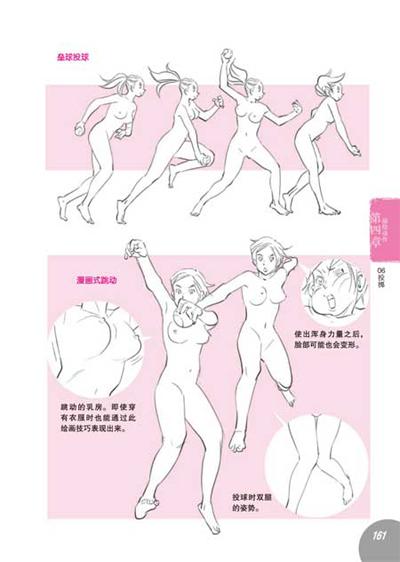 卡通人体示意图