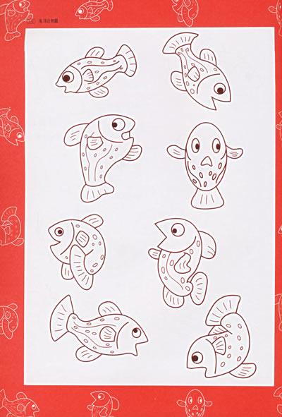 乌龟剪纸图案大全简单图解动物