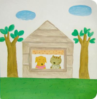 简笔画 幼儿动物见面图画