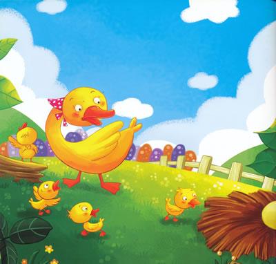 阳光宝贝经典童话故事——丑小鸭