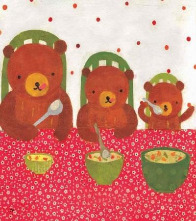 我的第一本数学童话:三只小熊(大小长短)