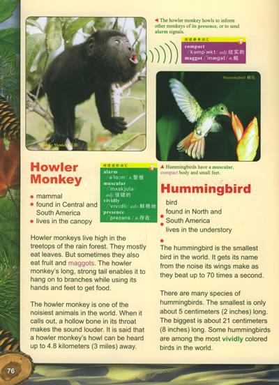 动物栖息地(英文版)——国家地理英语阅读与写作训练丛书
